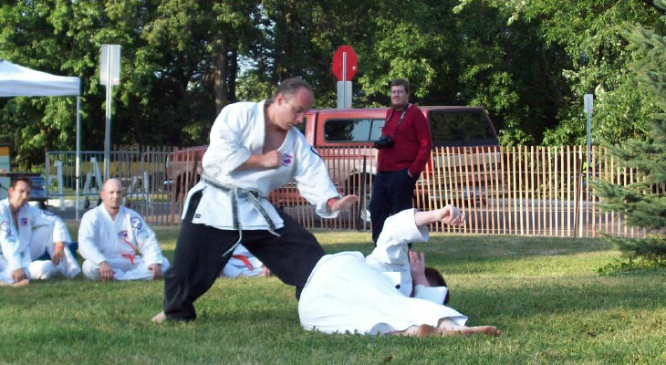 Budo Martial Arts Sensei Dombeck Throw